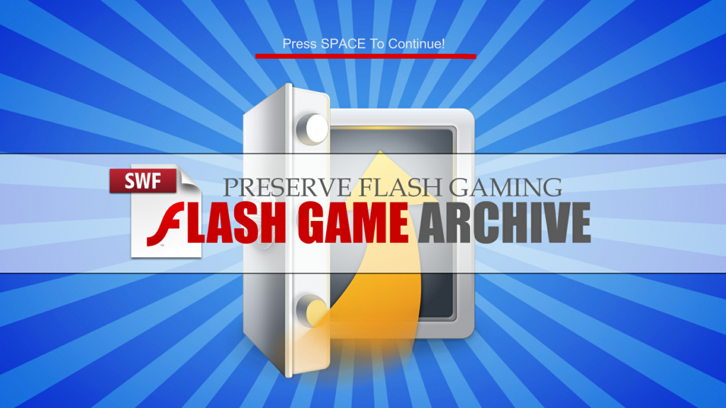 FlashGameArchive_Title_Screen