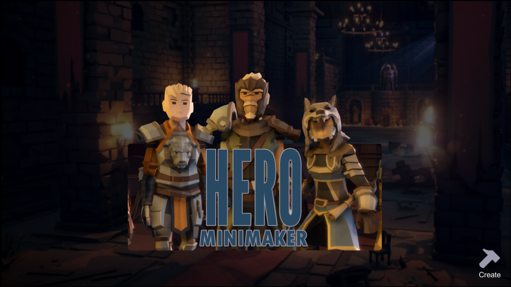 Hero_Mini_Maker_Title_Screen